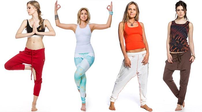 женская одежда для йоги