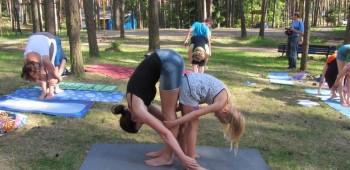 детский интенсив по йоге фото
