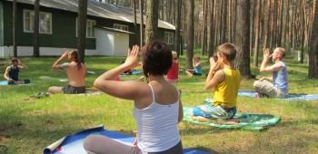 детский интенсив по йоге фотографии