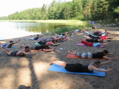 интенсив по йоге лето