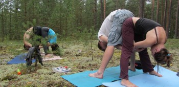парная практика йоги