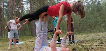 парная йога изображения