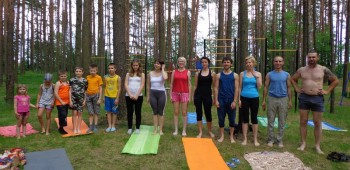 построение на йоге
