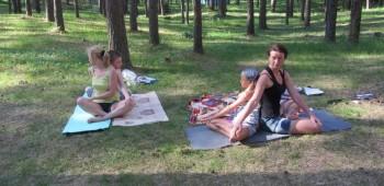 йога мам и детей