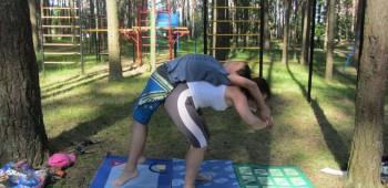 йога с мамой
