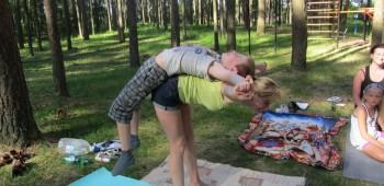 йога с матерью