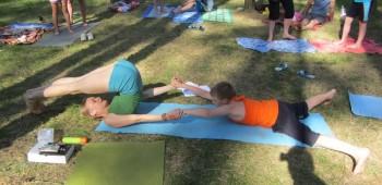 йога с ребенком