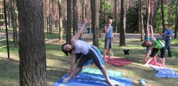 йога с родителем