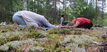 йога в паре фотографии