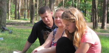 йога всей семьей