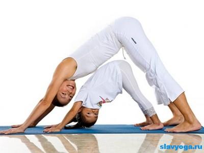 йога для детей и матерей
