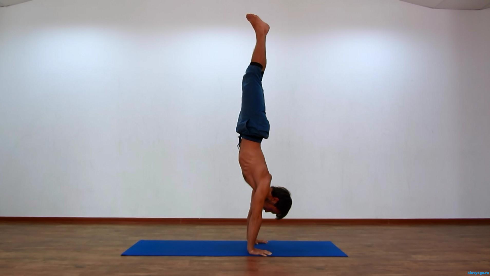 Как сделать баланс на руках