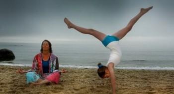 детско родительская йога