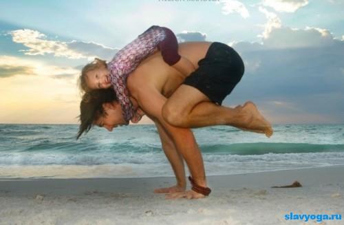 детская и родительская йога