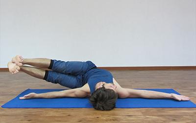 упражнения йоги для поясницы