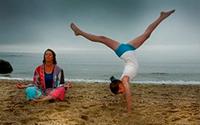 йога для родителей и детей
