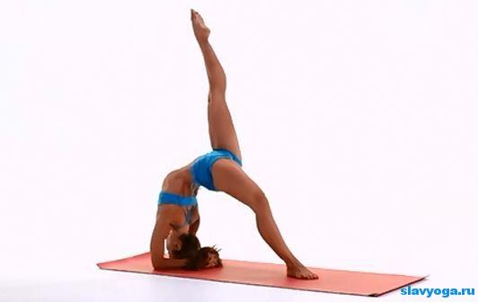прогибы назад в йоге