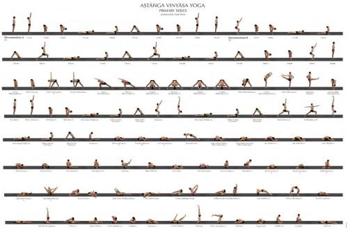 1-я серия аштанга йоги