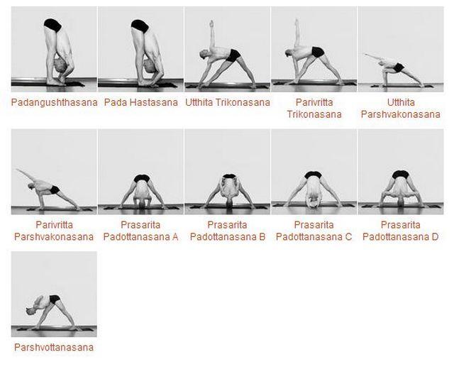 базовая последовательность асан аштанга йоги