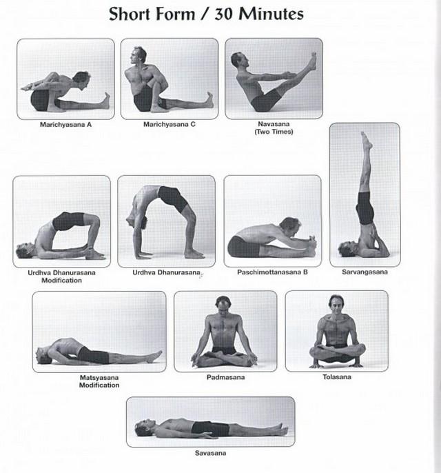 короткие последовательности аштанга йоги
