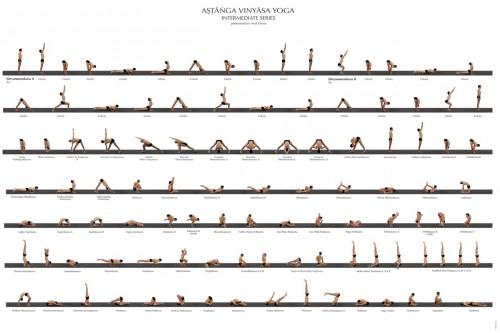 промежуточная последовательность аштанга йоги