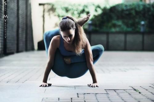 современная йога фото