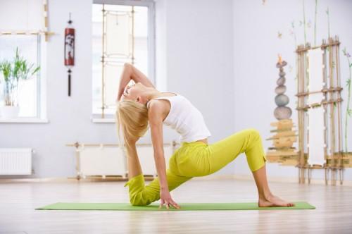 йога для ног