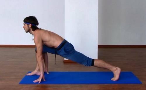 простые позы йоги