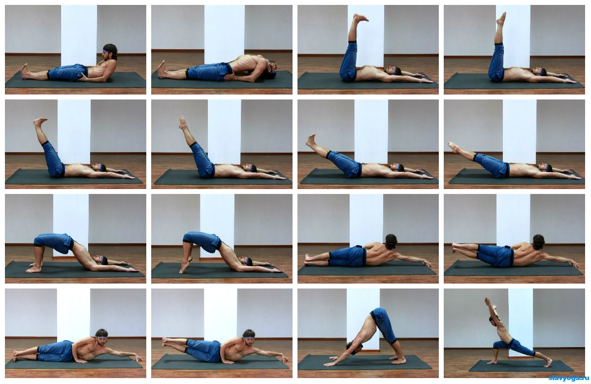 йога для похудения комплекс