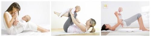 беби йога йога с мамой