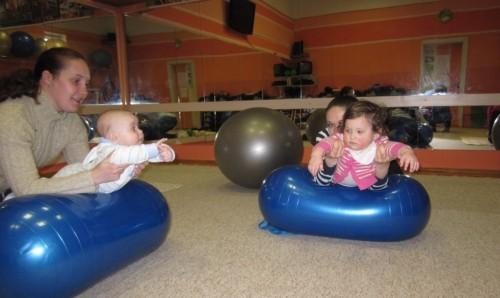 фитбол для малышей 1