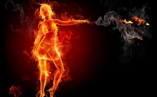 пять элементов огонь