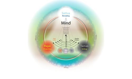 ум человека и три гуны