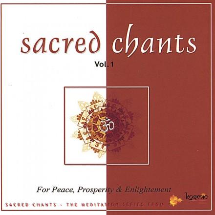 Uma Mohan -  Sacred Chants for Peace, Prosperity & Enlightenment (2001)