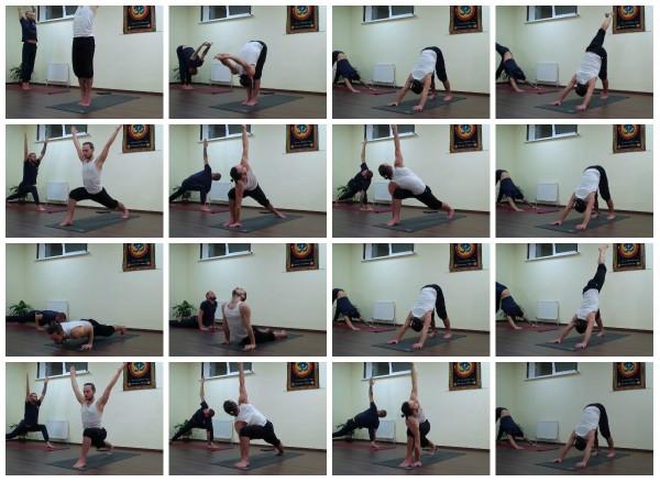 йога для хорошо тренированных разминка 1