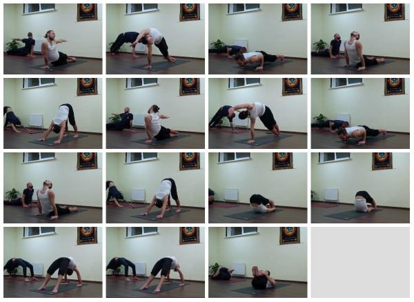 йога для хорошо тренированных разминка 2