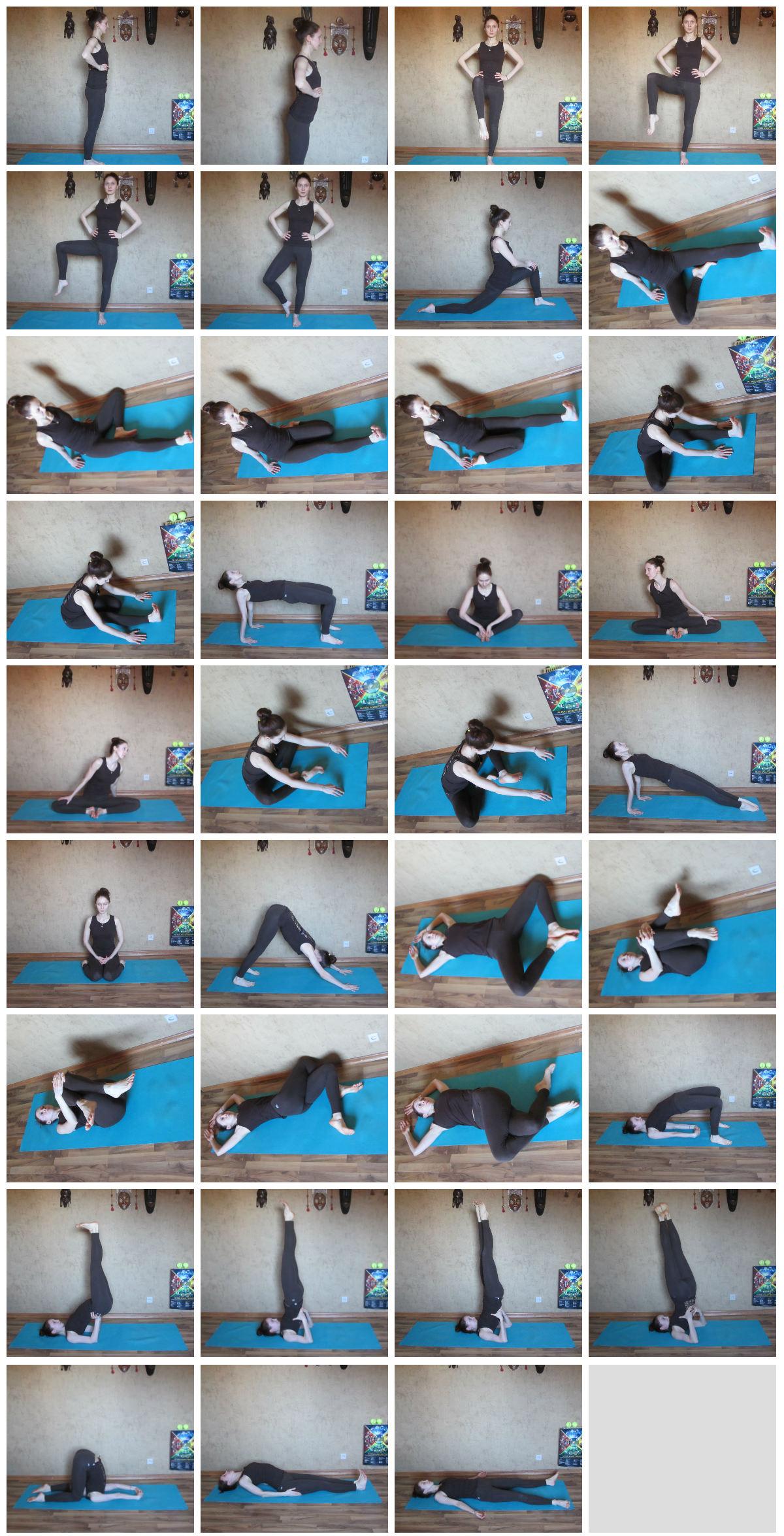 йога при ПМС фото