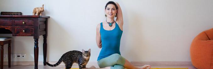 Юлия Синявская йога