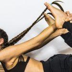 Причёска для йоги «Два колоска»