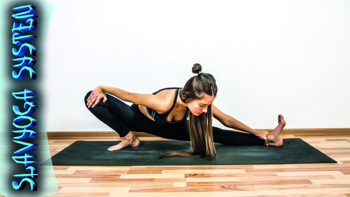 растяжка йога