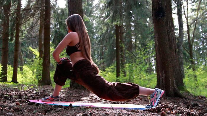 разминочные упражнения для шпагата