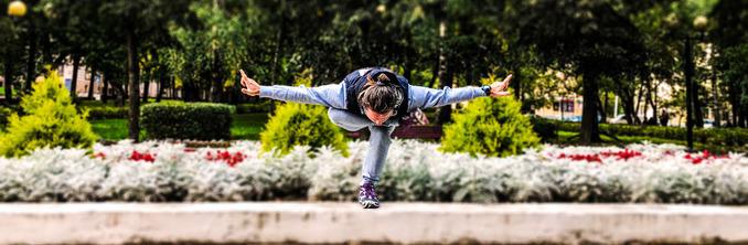 тренировка по йоге
