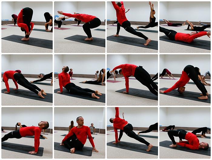 комплексная тренировка по йоге