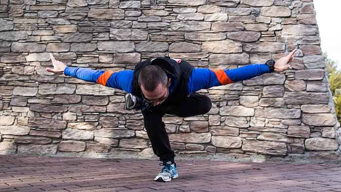 работа мышц йога