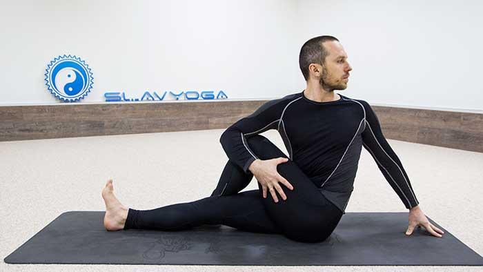 простая йога для начинающих с сергеем черновым