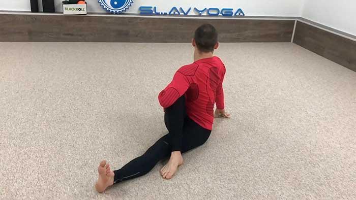 ущемлнение седалищного нерва лечебные упражнения